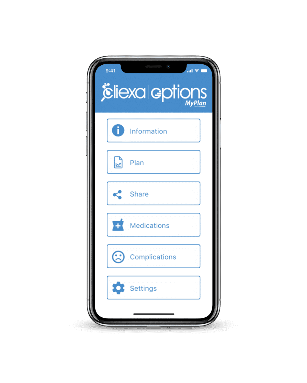 cliexa-OPTIONS MyPLAN