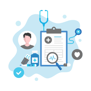 Claims data for evaluation and management services