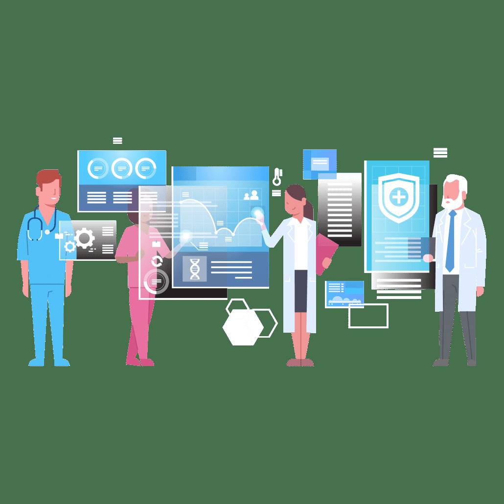 Population health management software