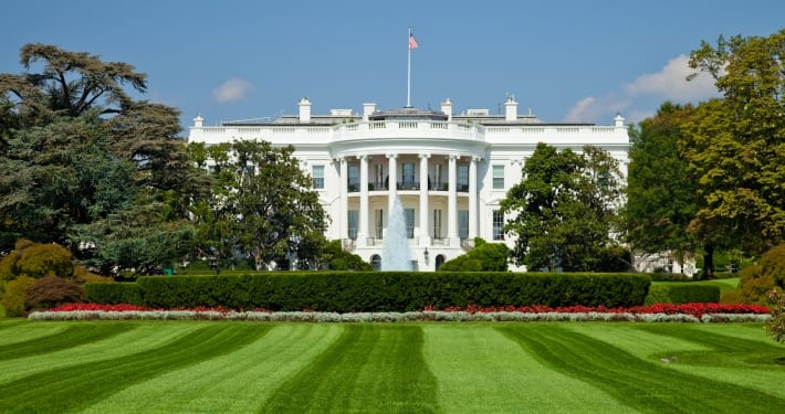 Image of the White House Lawn