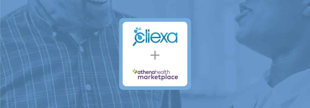 cliexa is now available in the athenaHealth Marketplace