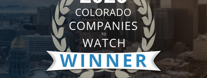 Colorado Companies to Watch Award WInner